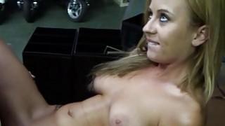 Teen bitch deepthroats and rides a huge rod