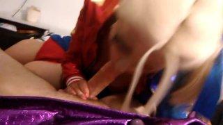 Harley Quinn takes rough anal and facial