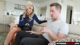 Blonde MILF Olivia Austin Is In For a Surprise Ending