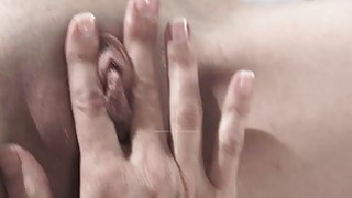 Mindi fingering Bobbi's pussy while being recorded