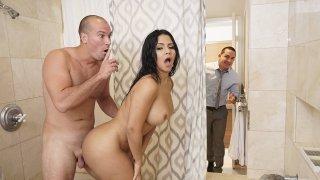 Big booty slut cheating on her man