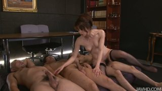 Amateur Japanese chick Hojo Maki gets pounded ardently