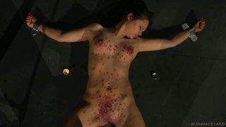 She got a Hardcore Treatment