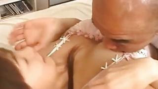 Yui Seto has licked nooky fucked with vibrator