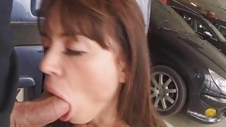 Franceska Jaimes got slammed in the ass at the parking lot