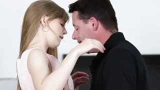 Sweet sexy babe Dolly Leigh wants a large massive meat